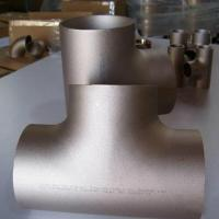 Wholesale ERW Tee / Copper Nickel Butt Weld Fittings For Automotive JIS B 2311/2220 from china suppliers
