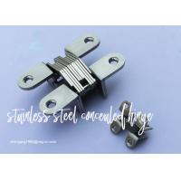 Wholesale Furniture Cabinet Stainless Steel Concealed Hinges Angel cupboard Hinge from china suppliers
