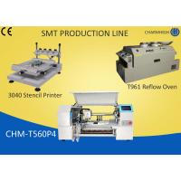 Wholesale 3040 Stencil Printer + 60 Feeders Pick and place Machine + T961 Reflow Oven , SMT production Line from china suppliers