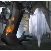 Wholesale H-27 Oxford Giant Halloween Inflatable Spooky Tree and Inflatable Ghost from china suppliers
