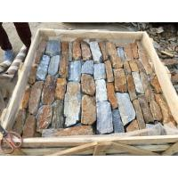 Wholesale Rustic/Blue Quartzite Field Stone,Quartzite Field Stone Veneer,Natural Loose Ledgestone,Random Stone Cladding from china suppliers