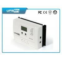 Wholesale 15A 20A 30A MPPT LCD solar charger controller with USB , street lights controller from china suppliers