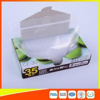 Wholesale Transparent Plastic Zipper Top Zip Lock Bag For Cold Food Storage FDA Approved from china suppliers