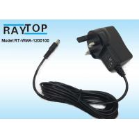 Wholesale UK Plug 12v wall adapter 1000mA , CE ROHS AC DC Adapter High Efficiency from china suppliers