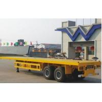 Wholesale Flat Bed Container Semi Trailer from china suppliers