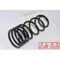 black powder coated pigtail rear coil springs from XULONG SPRING FACTORY