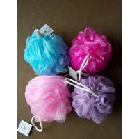 Wholesale Multi Color Bath Balls Body Exfoliate Puff Sponge Mesh Shower Balls Bath Puff from china suppliers