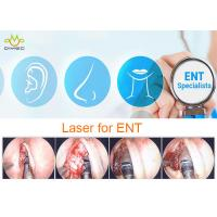 Buy cheap Diode Ent Laser , Ear / Nose Throat Ent Laser Surgery & Therapy 15w / 20w / 30w from wholesalers