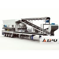 Wholesale More Convenient Mobile Crushing Plant , Portable Cone Crusher Machine from china suppliers