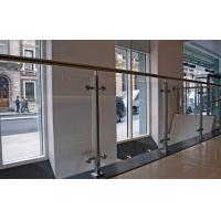 Wholesale Commercial Stainless Steel Balustrade Design With Tempered Glass from china suppliers