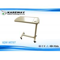 Quality Outstanding Wearable Beige ABS Over Bed Tray Table With Air Spring KJW-MT 07 for sale