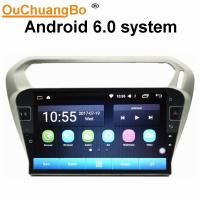 Buy cheap Ouchuangbo car radio audio android 6.0 for Citroen Elysee Peugeot 301 with gps navi AUX USB 32 GB from wholesalers
