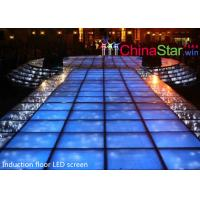 Wholesale Energy Saving Interactive Led Dance Floor / Led Video Dance Floor T Show from china suppliers