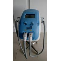 Quality Portable double handle OPT SHR Elight hair removal/ SR IPL  skin rejuvenation machine for sale
