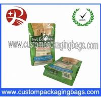 Wholesale Resin Packaging Blcok Bottom Bags Custom Packaging Bags For Pet Food from china suppliers