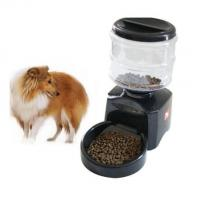 Wholesale Automatic Dog Feeder With Timer Auto Pet Dry Food Dispenser from china suppliers