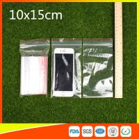 Wholesale 10 x 15 Clear Reclosable Zipper Plastic Bag / Self Sealing Poly Bag from china suppliers