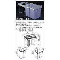 Buy cheap Dust Can|Metal Can|Rubbish Can|Plastic Can|Stainless Steel Can KDB011A from wholesalers