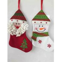 Wholesale Hot Selling 2016 Amazon Christmas Sock Personlized Christmas Stocking from china suppliers