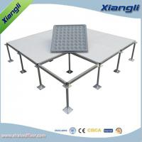 Buy cheap FS662 Cement infill steel raised floor PVC finish,610mmX610mmX35mm from wholesalers