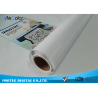 China Aqueous Glossy Synthetic Digital Print Paper 8 Mil / 205 Micron Polypropylene Base on sale