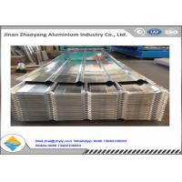Quality 1050 1060 Corrugated Aluminum Panels Embossed Aluminum Ridge Tile YX24-210-840 for sale