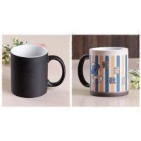 Quality the change colors mug pronting photos ceramic cup for sale