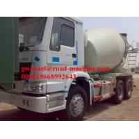 Wholesale Sinotruck 6 x 4 Euro II 336 HP Engine Cement Mixer 12m3 Truck Concrete Mixing Equipment from china suppliers