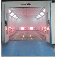 Wholesale Short Wave Infrared Lamp Heating Side Draft Paint Booth For 4S Shop from china suppliers
