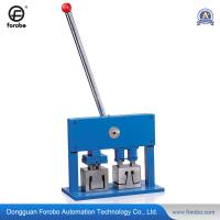 Wholesale 50mm 3-in-1 manual punching machine for venetian blind head rail from china suppliers