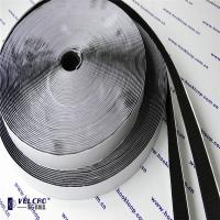 Wholesale Black Color Self Adhesive Hook And Loop Tape Carpet Velcro Tape Hot Melt Glue from china suppliers