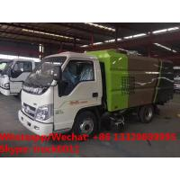 Buy cheap Factory sale good price 2018s new design forland 4*2 LHD diesel street sweeping truck for sale, road sweeper truck from wholesalers