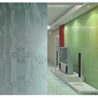 Wholesale 4mm - 19mm Frosted Tempered Glass, Maximum size 2400*4500mm Craft Sand Blasted Glass from china suppliers