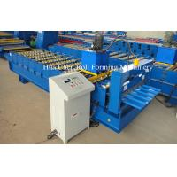 Wholesale CNC Colored Steel Roofing Sheet Roll Forming Machine For Steel Roof And Wall from china suppliers