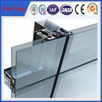 Wholesale aluminium curtain wall profiles supplier, aluminium extrusion for glass curtain wall from china suppliers