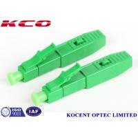 Wholesale LC /APC Quick Field Assembly Fiber Optic Fast Connector , 55mm 60mm from china suppliers