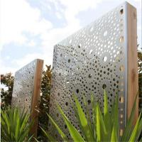 Wholesale laser cutting metal fence metal screen for garden fence or decoration from china suppliers