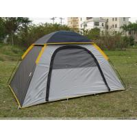 Wholesale Lightweight Hiking 4 Person Camping Tent Waterproof Wth 190T Polyester / One Year Warranty from china suppliers