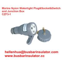 Wholesale 3 pin junction box CZF2-3 waterproof marine socket and switch from china suppliers
