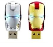 Wholesale 8-16G USB 2.0 key Metal USB flash drive for HP brand from china suppliers