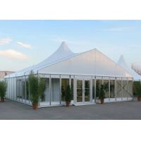 Wholesale Glass Wall  Mixed Shape Wedding Party Tents Awning  , Outside Wedding Tents from china suppliers
