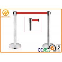 Wholesale Airport Stainless Steel Queue Crowd Control Barrier Retractable Queue Rope Barrier Line from china suppliers