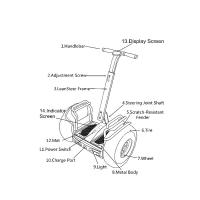 Wholesale Durable 21 Inch Segway Electric Scooter With Double Battery And App Control from china suppliers