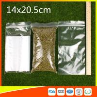 LDPE Packing Zip Lock Bags Grip Seal Bag  Reclosable Bag For Storage