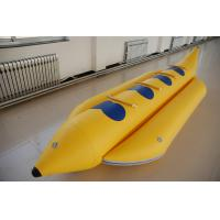 Wholesale Summer Water Sports 4 Man Inflatable Banana Boat With 3 Chamber from china suppliers