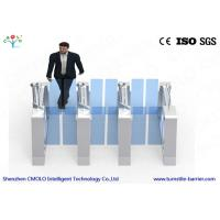 Quality Bi Directional Biometric Turnstile Pedestrian Turnstile Gate Anti - Collision for sale