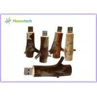 Wholesale Novetly 2.0 tree branch Wooden USB Flash Drive promotional 4GB 8GB 16GB 32GB from china suppliers