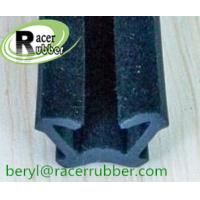 Wholesale side window channel flocked rubber seal from china suppliers
