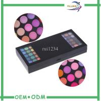 Wholesale Cardboard Empty Foldable Eyeshadow Cosmetic Box Packaging Handmade Custom from china suppliers