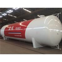 Wholesale 5 ~ 100 CBM LPG Skid Tank , Q345R Carbon Steel Liquefied Petroleum Gas Tank from china suppliers
